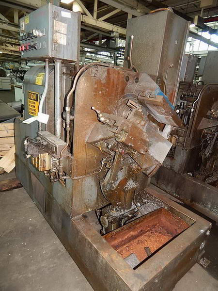 """3-1/8"""" MODERN TUBE CUT OFF WITH RACK"""