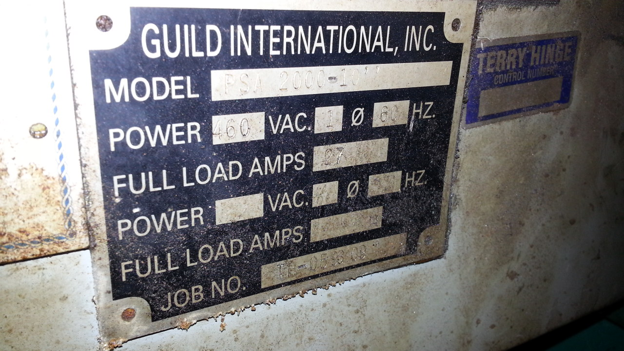 "10"" x .135"" GUILD SHEAR END WELDER"