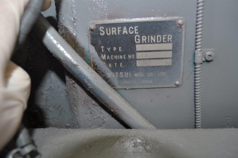 "16"" x 32"" MITSUI HYDRAULIC SURFACE GRINDER"