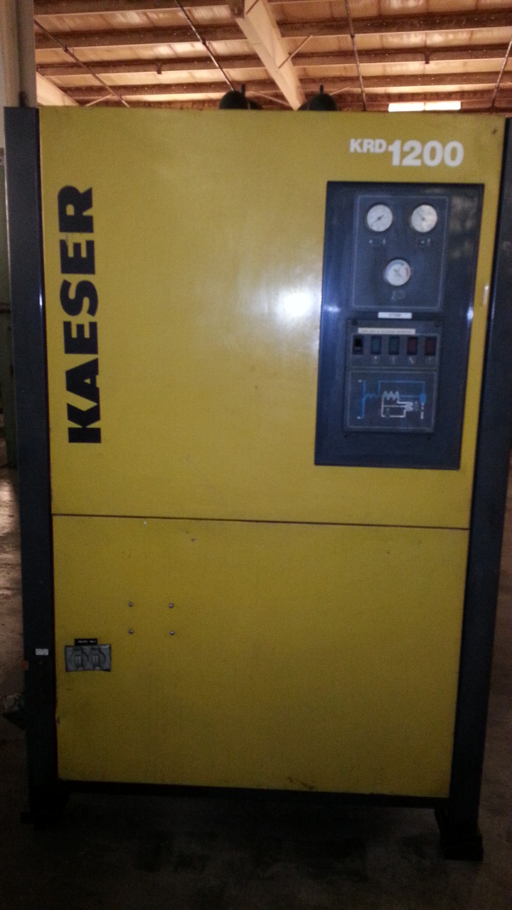 1200 CFM KAESER AIR DRYER