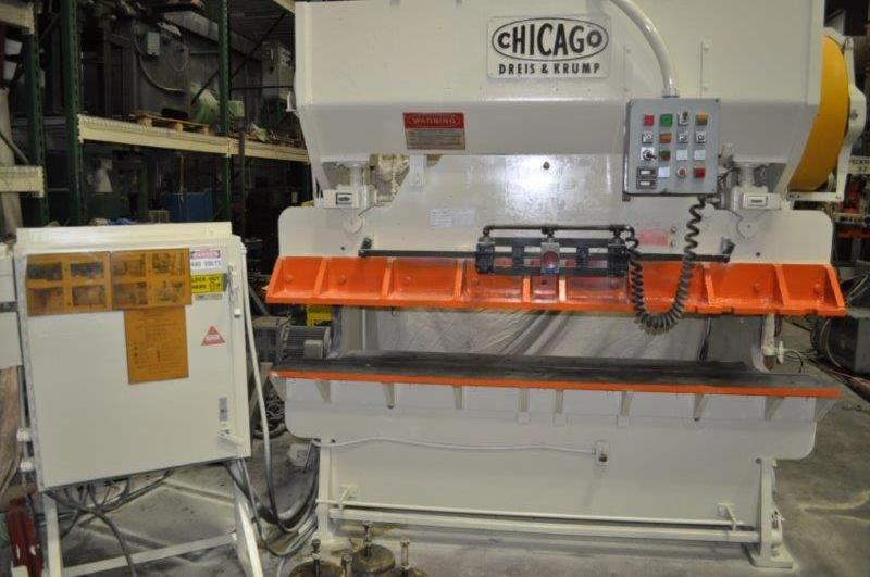 60 TON DREIS & KRUMP PRESS BRAKE