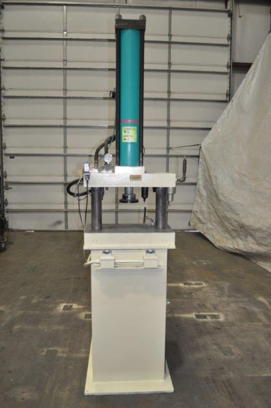 50 TON TOX PRESSOTECHNIK  MB-50 AIR OVER HYDRAULIC PRESS