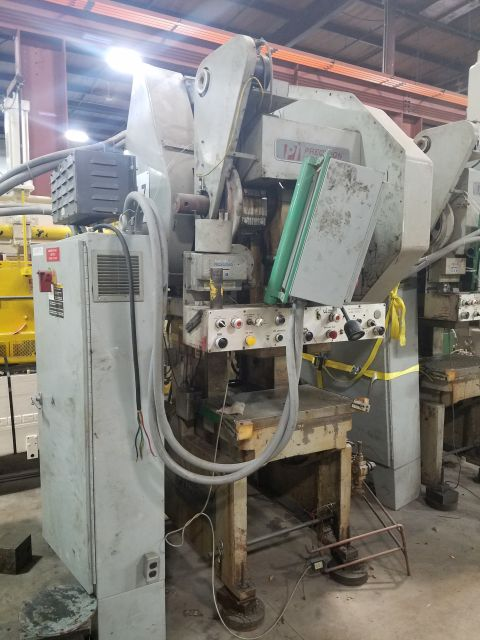 45 TON PRECISION GAP FRAME PRESS