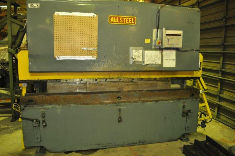 70 TON x 8' ALLSTEEL HYDRAULIC PRESS BRAKE