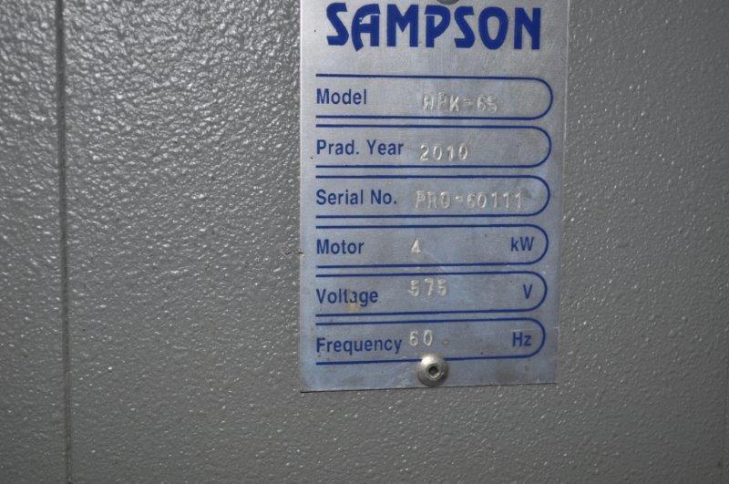 """2.5"""" SAMPSON VERTICAL ANGLE BENDING ROLLS"""