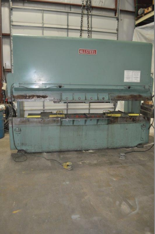 120 TON x 12' ALLSTEEL HYDRAULIC PRESS BRAKE