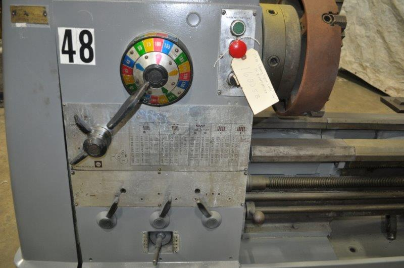"17"" x 80"" CLAUSING ENGINE LATHE"
