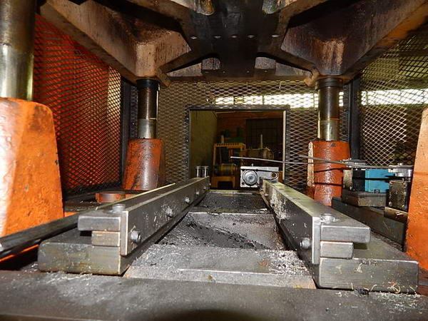 55 TON TISHKEN  CUT OFF PRESS