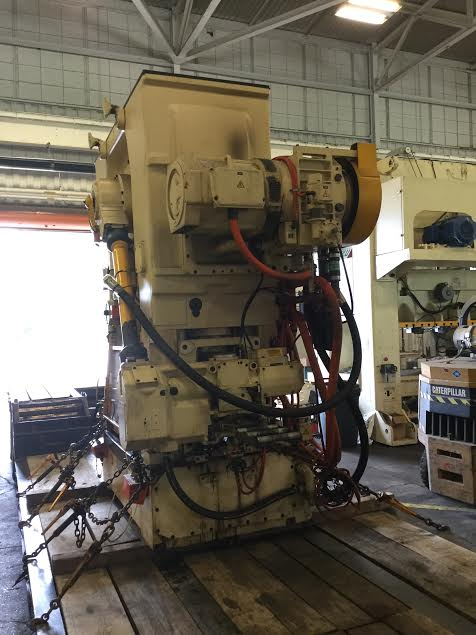 90 TON BRUDERER HIGH SPEED PRESS MODEL BSTA 90 HL