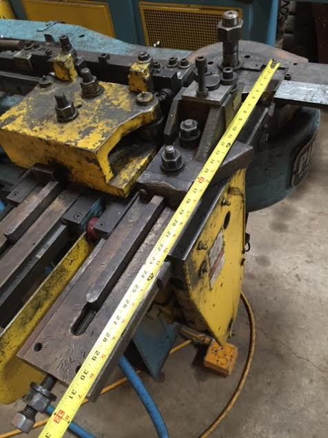 "3"" #2 PINES HORIZONTAL TUBE BENDER"