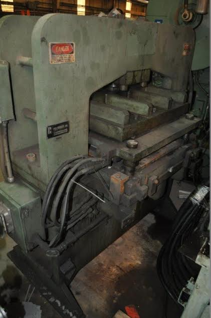 FELDMAN HYDRAULIC BRIDGE BLANKING PRESS