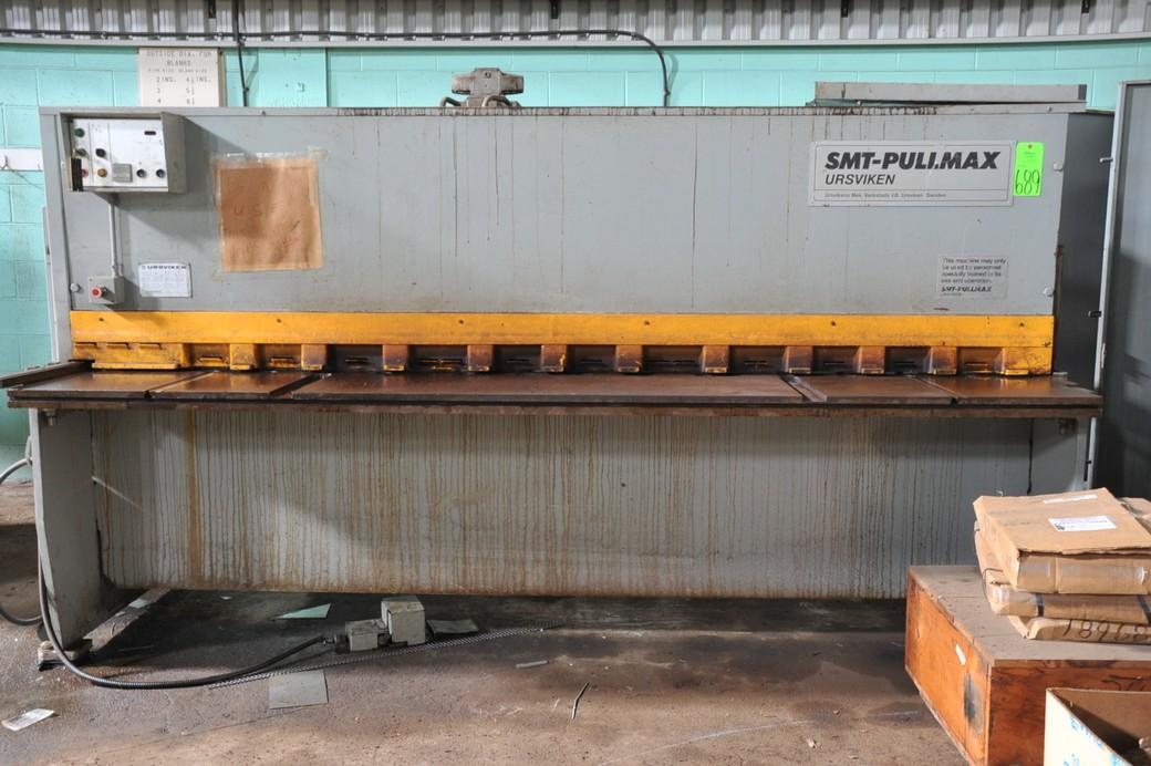 10' x .200 Pullmax Hydraulic Shear