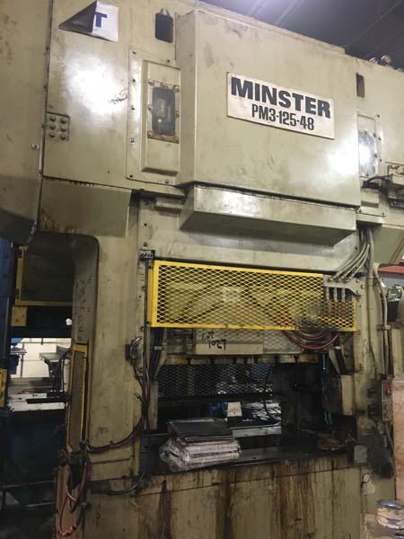125 TON MINSTER PM3 SSDC PRESS