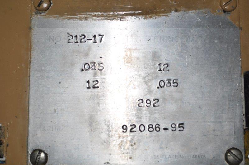 "12"" x .035"" LITTELL STRAIGHTENER"