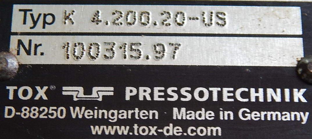 4 TON TOX PRESSOTECHNIK