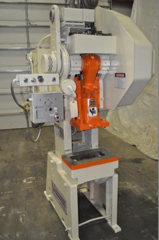22 TON PRECISION INDUSTRIES GAP FRAME PRESS
