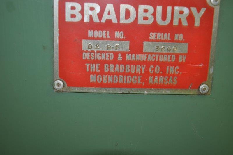 18 STAND BRADBURY ROLLFORMER