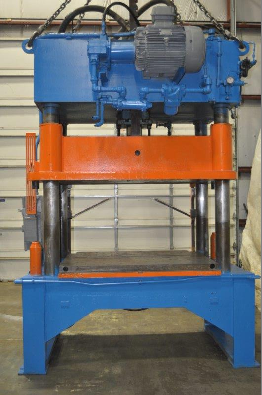 50 TON KARD 4 POST HYDRAULIC PRESS