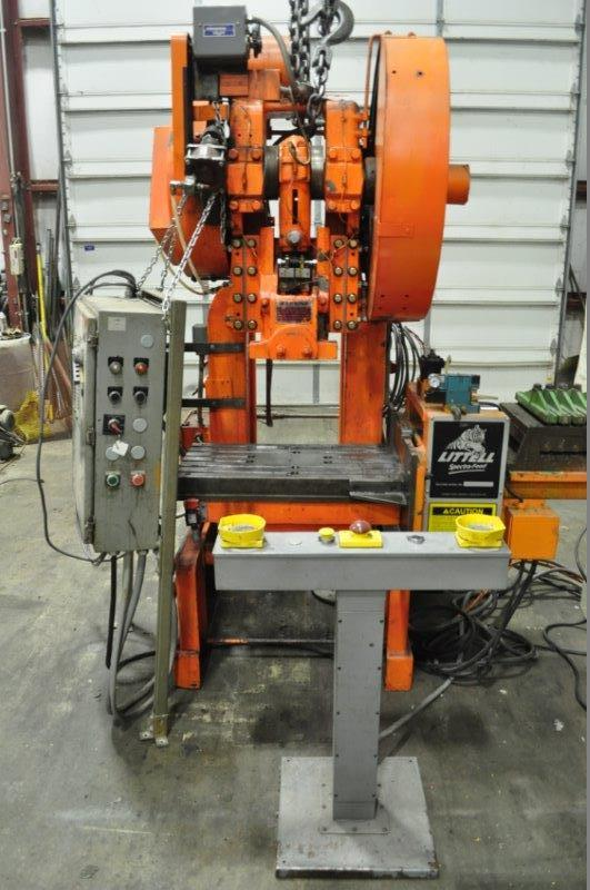 60 TON ROUSSELLE BACK GEARED OBI PRESS