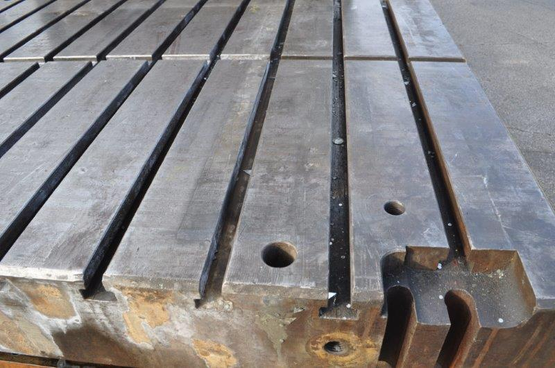 """144"""" x 54"""" x 9"""" T SLOTTED BOLSTER"""