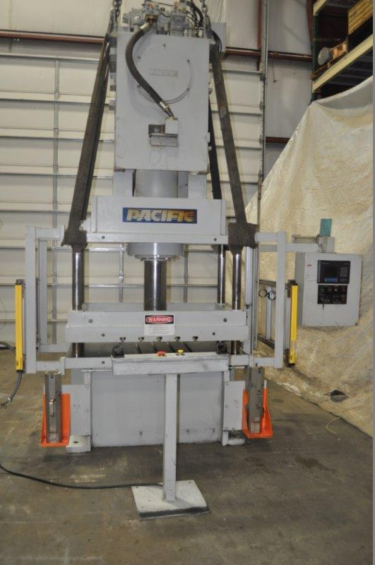 60 TON PACIFIC 4 POST HYDRAULIC PRESS