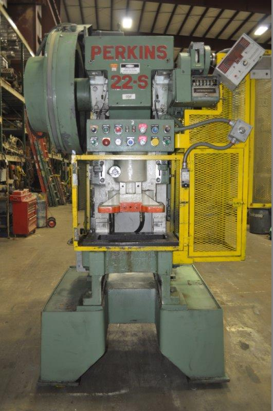 22 TON PERKINS GAP FRAME PRESS