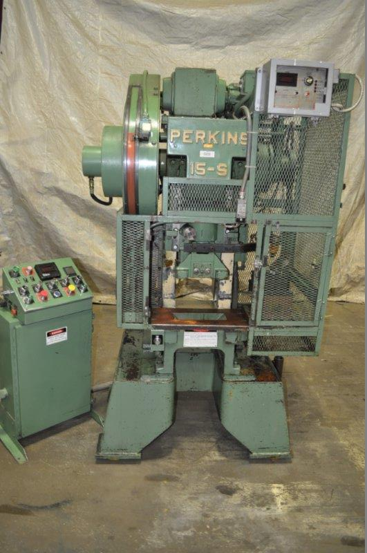 15 TON PERKINS GAP FRAME PRESS