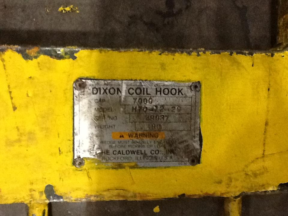 """7000 lb Dixon Coil """"C"""" Hook"""
