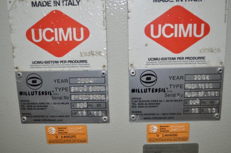 """6600 LB x 31"""" x .118"""" MILLUTENSIL COMPACT SERVO FEEDLINE"""