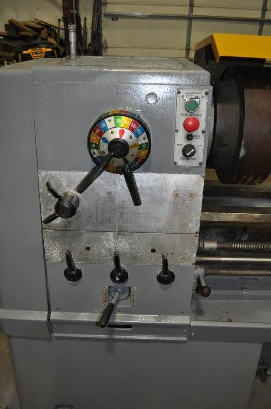 """21"""" x 120"""" CLAUSING COLCHESTER ENGINE LATHE"""