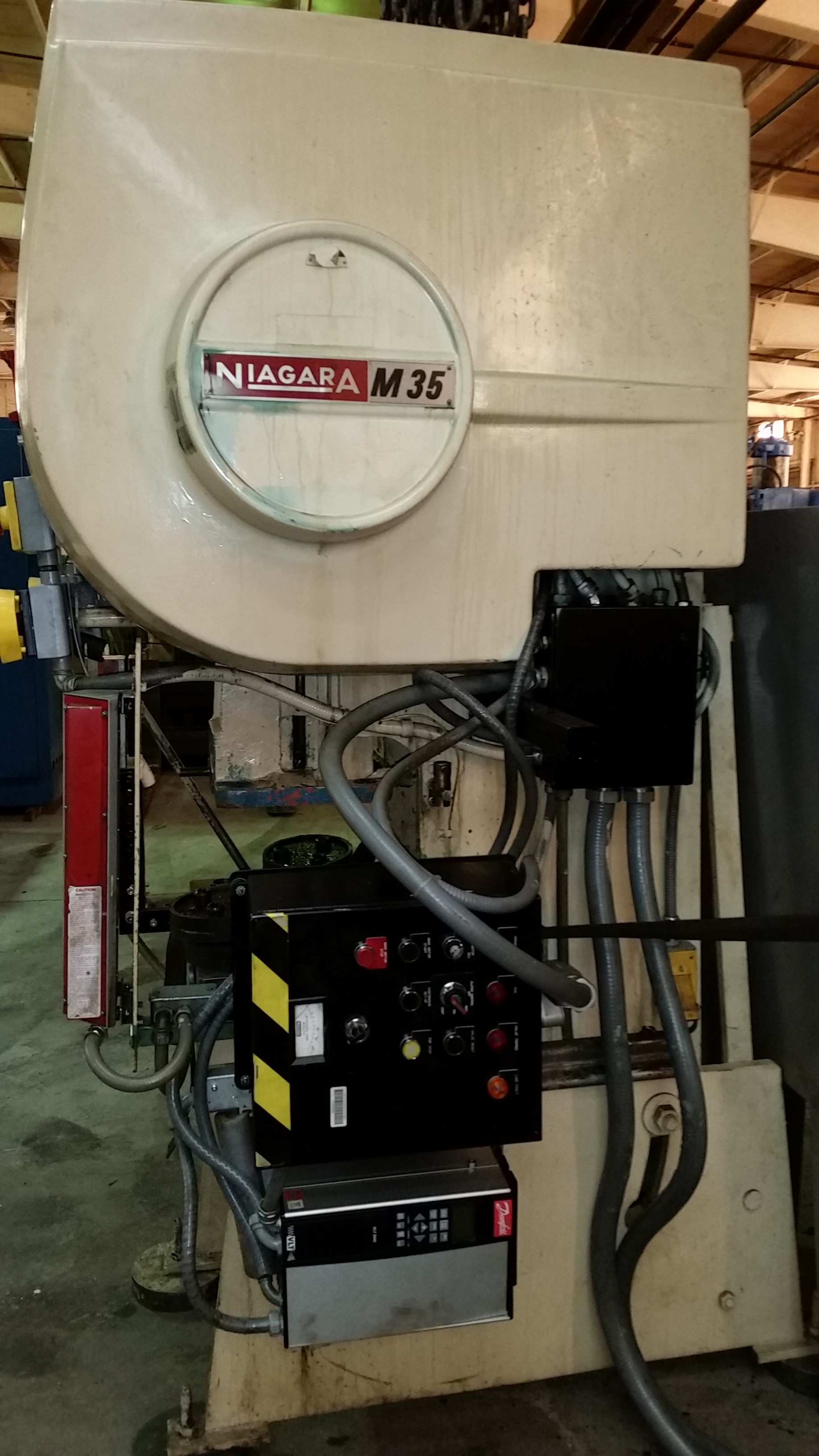 35 TON NIAGARA OBI PRESS