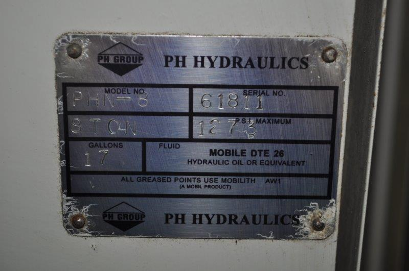 8 TON PH HYDRAULIC PRESS