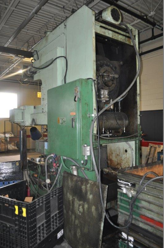 165 TON STAMTEC GAP FRAME PRESS