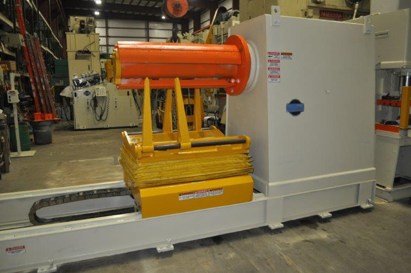 "50,000 LB x 42"" x .130"" COE UNCOILER AND STRAIGHTENER LINE"