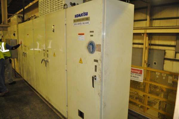 660 TON KOMATSU SSDC SERVO PRESS