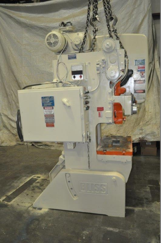35 TON BLISS FLYWHEEL TYPE OBI PRESS