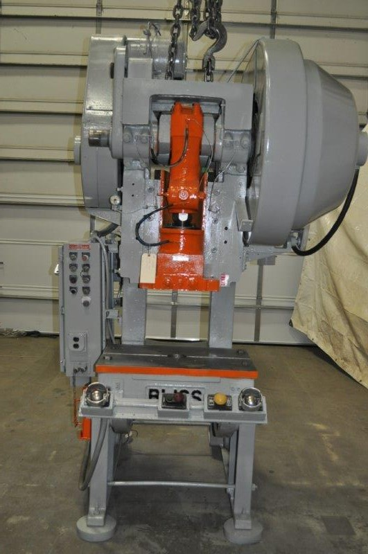 45 TON BLISS BACK GEARED STYLE OBI PRESS
