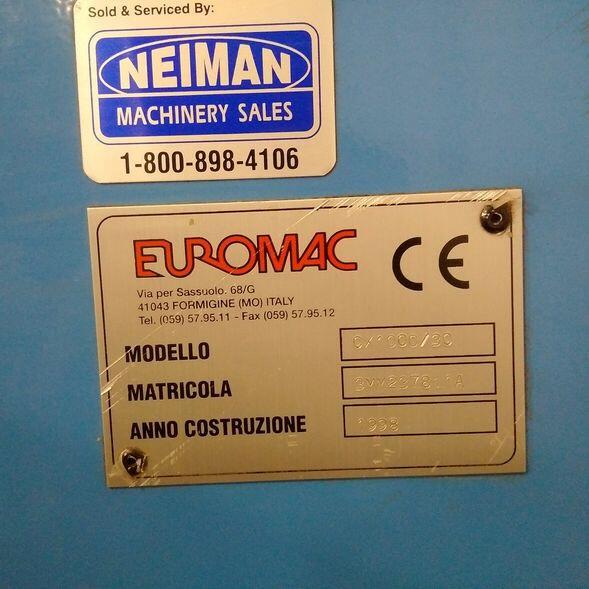 30 TON EUROMAC CX1000/30 CNC PUNCH