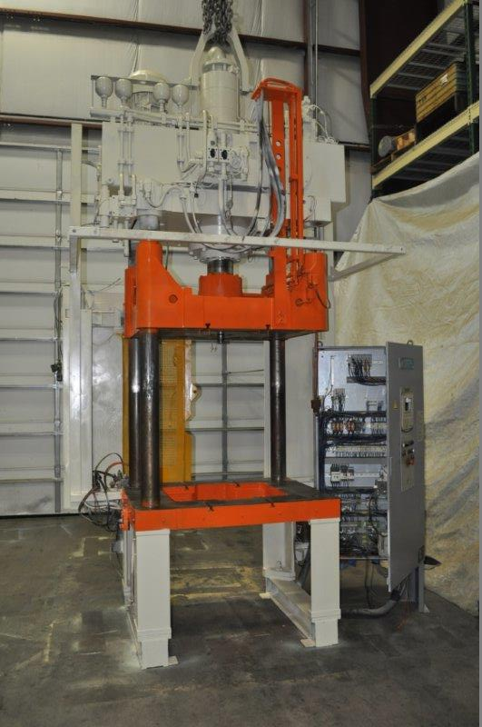 73 TON REIS HYDRAULIC PRESS