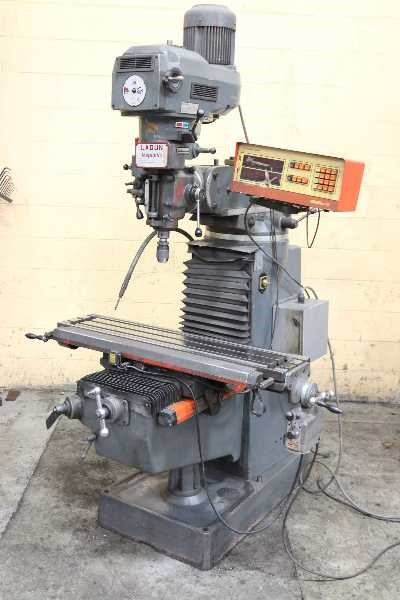 3 HP LAGUN VERTICAL MILL