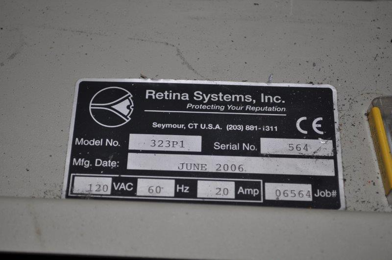 RETINA VISION INSPECTION SYSTEM
