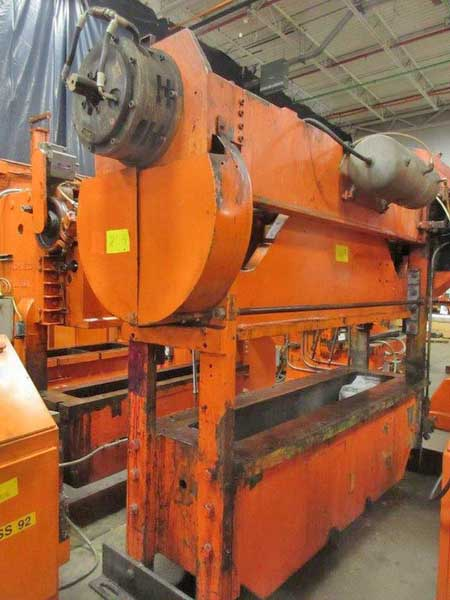 100 TON ROUSSELLE SSDC PRESS