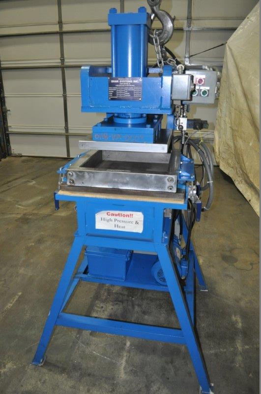 15 TON STOCKMEIER / SHAR HYDRAULIC PRESS