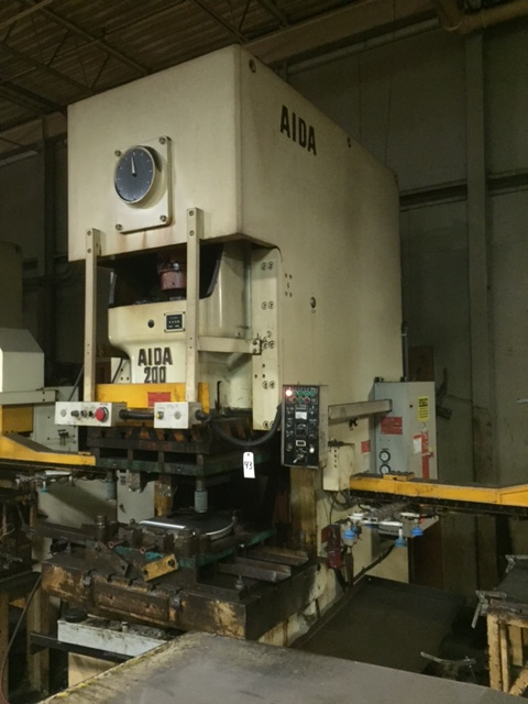 220 TON AIDA GAP FRAME PRESS