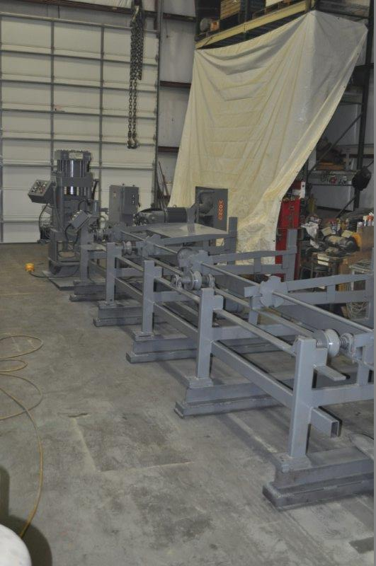 210 TON AMD BAR SHEAR