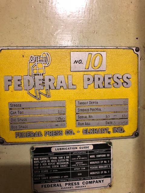 125 FEDERAL OBI PRESS