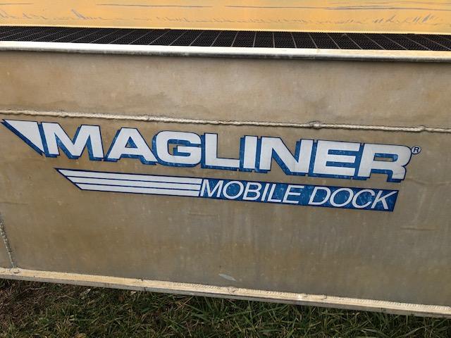 MAGLINER MOBILE ALUMINUM TRUCK DOCK