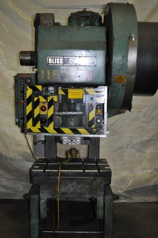 45 TON BLISS  FLYWHEEL TYPE OBI PRESS