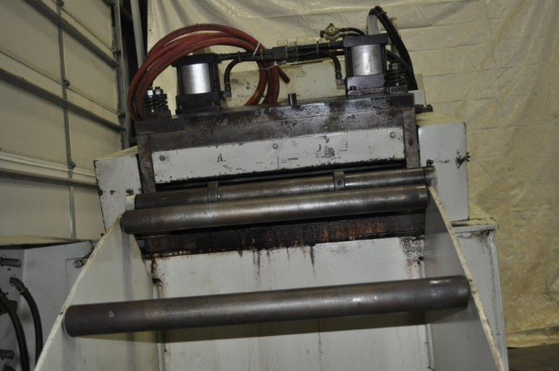 "8000 LB x 24"" x .187 COOPER WEYMOUTH PETERSON COIL CRADLE STRAIGHTENER"