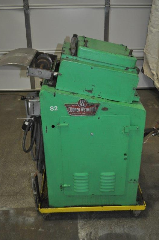 """12"""" x .060"""" COPPER WEYMOUTH PETERSON 17 ROLL STRAIGHTENER"""
